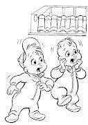 Alvin e os Esquilos para colorir (alvin )