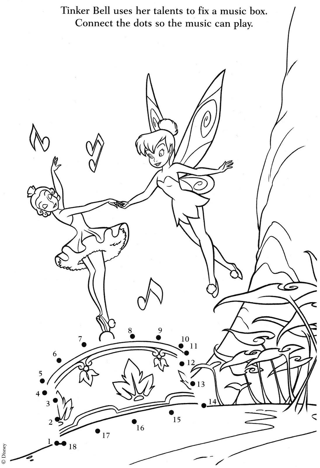 Amo A Tinkerbell  Seguem 3 Desenhos Dela Para Voc  S Imprimirem E