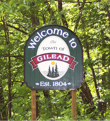 Town of Gilead Sign