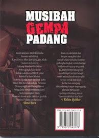 """Buku Antologi Puisi Penyair Nusantara """"Musibah Gempa Padang""""."""