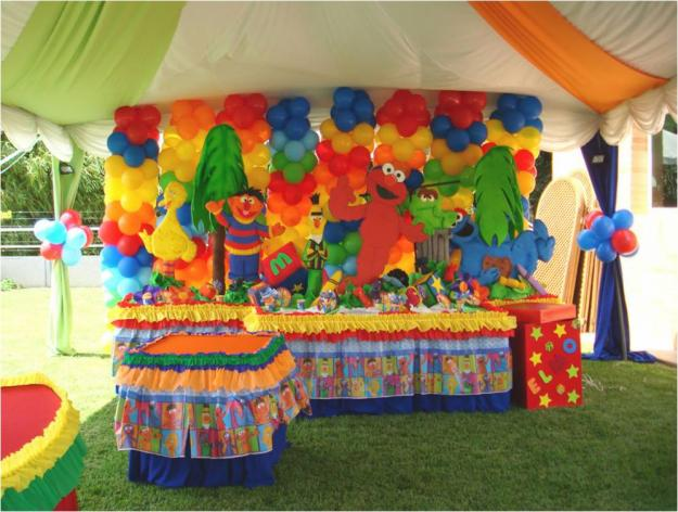 Decoraciones de fiestas infantiles mami y yo creaciones - Decoracion fiestas infantiles en casa ...