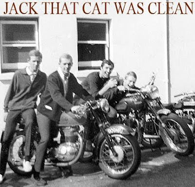 jack that cat was clean