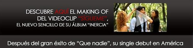 "DESCUBRE AQUI EL MAKING OF DEL NUEVO SENCILLO DE MANUEL CARRASCO ""SIGUEME"""