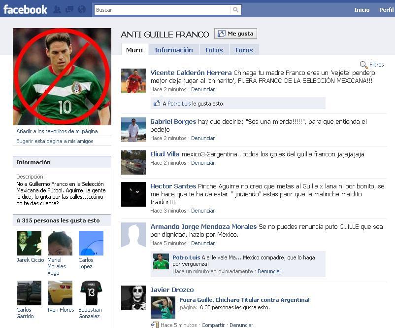 chaska borek y chicharito. y facebook : Mi blog .