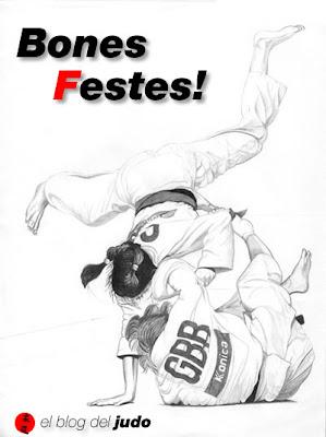 El Blog del Judo us desitja unes Bones Festes!