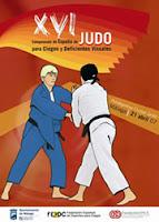 Cartell del Campionat d'Espanya de Judo per a Cecs i Deficients visuals
