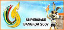 Imatge promocional de la 24a Universiada, a Bangkok