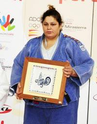 Alícia Alonso, Campiona d'Espanya de Judo