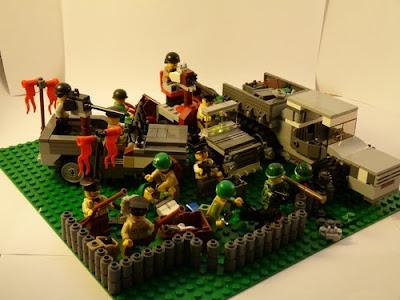 Lego WWII U.S. Outpost
