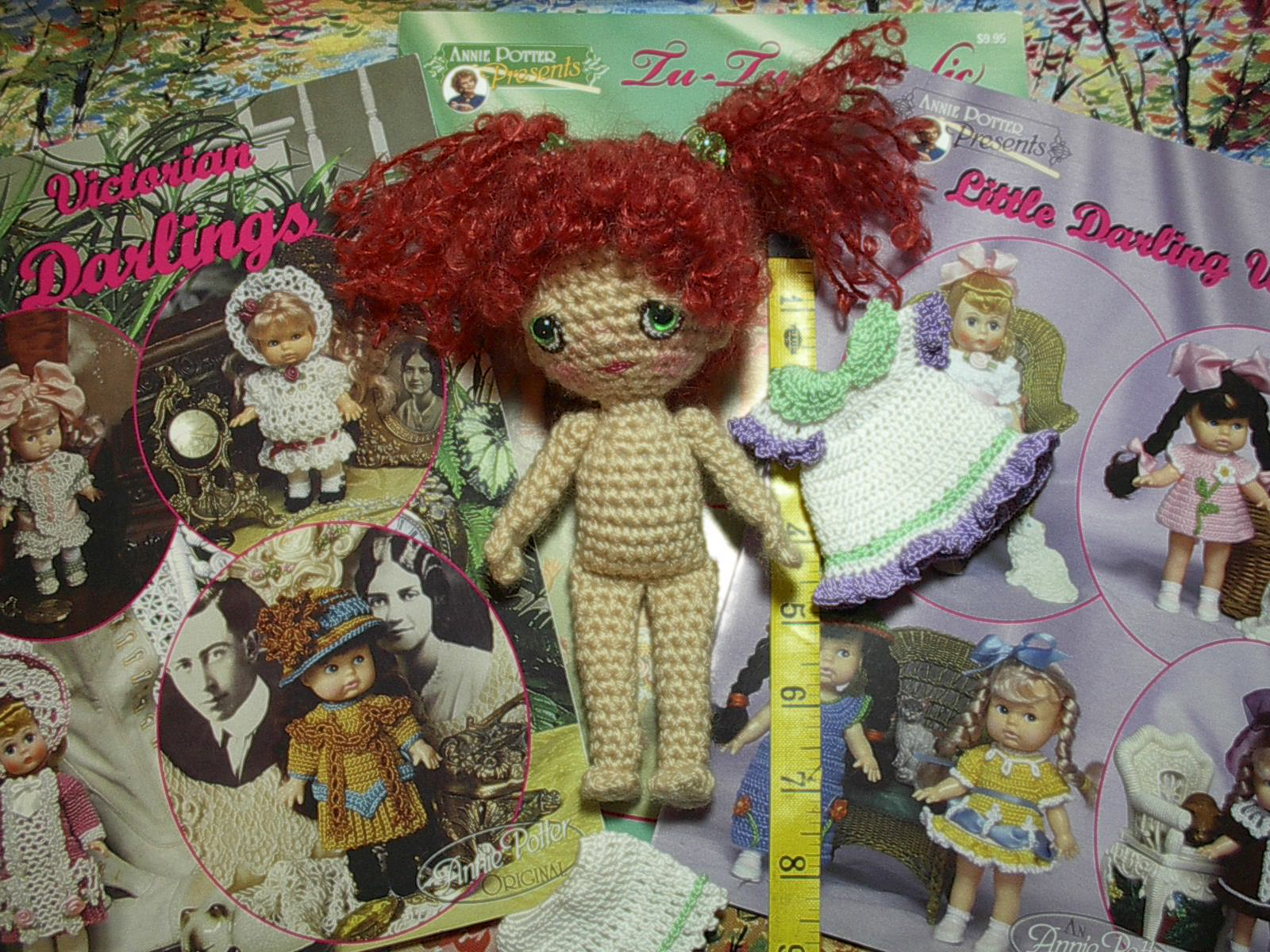 Crochet Mini Doll Pattern : By Hook, By Hand: Good Thing Come in Small Packages