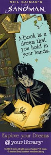 bookmark marcapáginas the sandman by neil gaiman dc comics