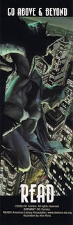 bookmark marcapáginas batman dc comics illustration by alex ross