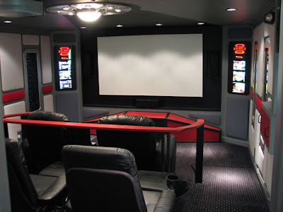 Expensive Home Theater Room