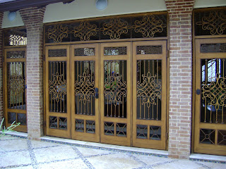 Ml construmetal puertas en hierro forjado ideal para - Puertas de terraza ...