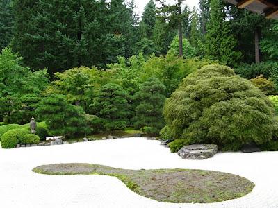 Portland's Japanese Garden.