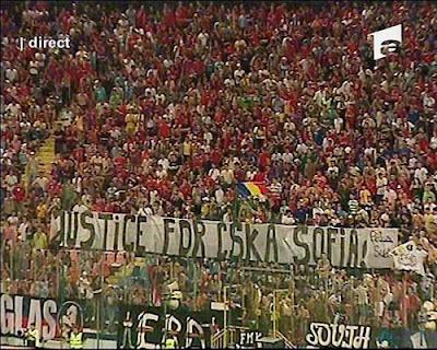 Steaua Bucurest - Justice for CSKA Sofia