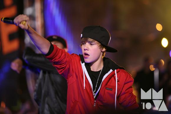 Singer Justin Bieber 16 years