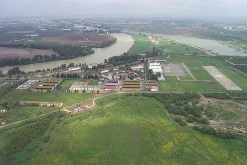 Vista aérea del RAAA 74          (EL COPERO)