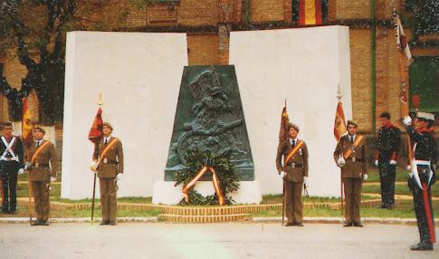 Ultimo Monumento a los Caidos del RACA 14