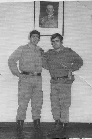 """Mi hermano, """"El Prenda de la Caleta"""" en 1968, vistiendo el uniforme de Cabo, allá en Cerro Muriano"""