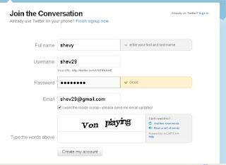Cara Mendaftar di Twitter