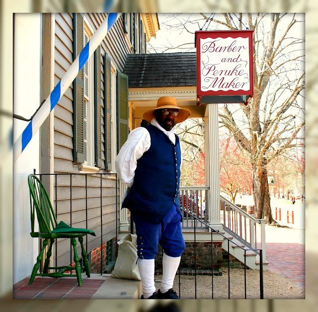 Barber Williamsburg : Williamsburg, Virginia: Barber and Peruke Maker, Colonial Williamsburg ...