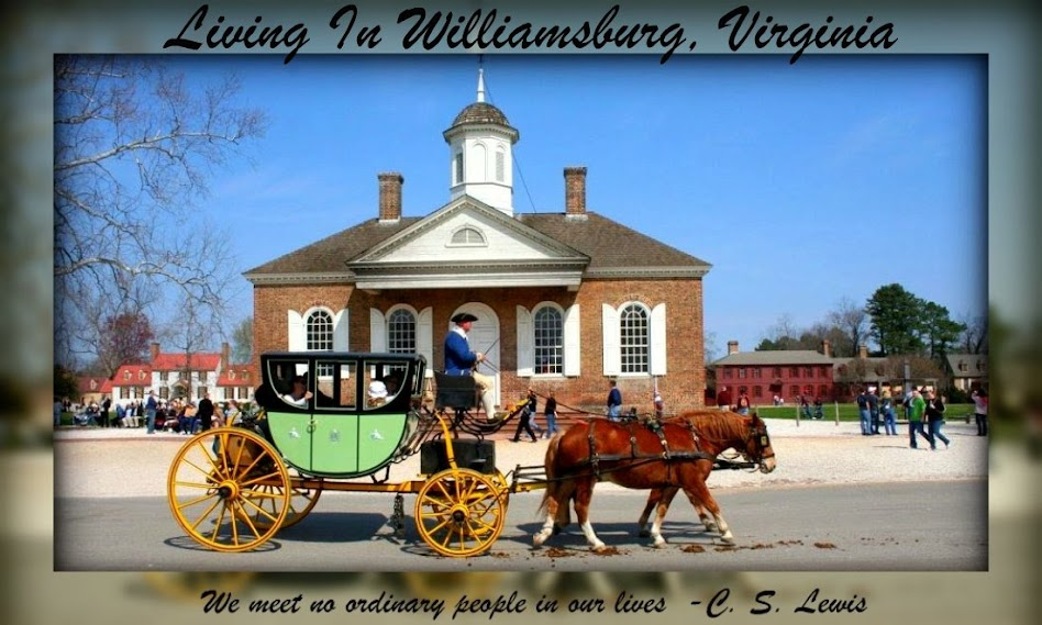 Living In Williamsburg, Virginia