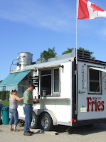 The Owen Sound Fry Wagon .... delicious