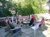 A BBQ with Elske and Deryk in Brockville