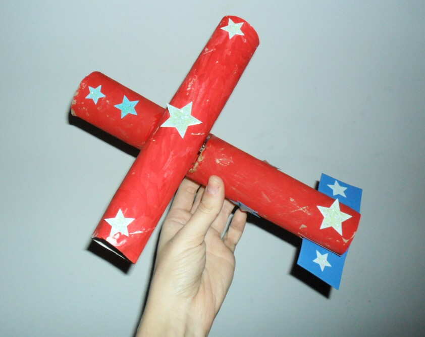 Paper Towel Roll Airplane Crafts
