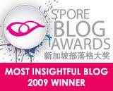 OMY Singapore Blog Awards 2009