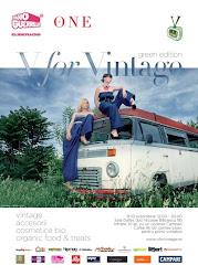 V for vintage GREEN