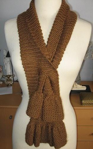 Easy Knit Scarf Pattern Video