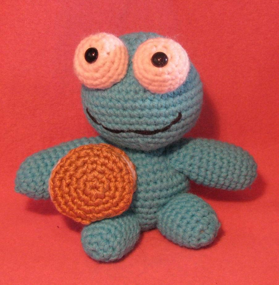 Amigurumi Cookie Monster Free Pattern : Arminas Ami-Nals: Keroppi Amigurumi