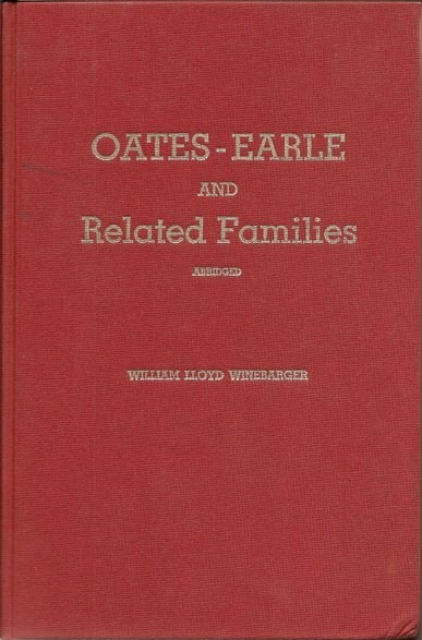 """Oates-Earle & Related Families"""
