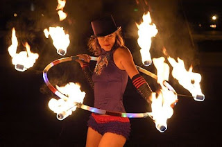 Fire Hula Hooper