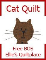 CAT QUILT BOS