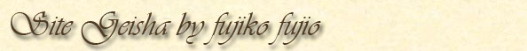 Site Geisha by Fujiko Fujio