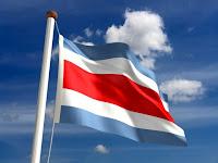 En Costa Rica sí hay de qué escribir Bandera