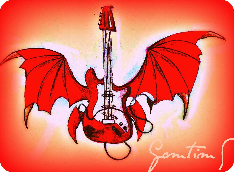 ARTE en el LPIZ un dibujo para un rock star X