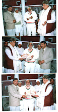 Speaker Haryana Assembly releasing the Book
