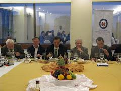 Cena-charla con Don Patricio Aylwin ex presidente de Chile