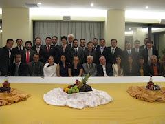 Grupo con Don Patricio Aylwin