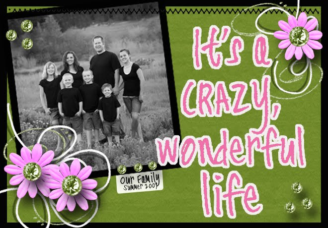 It's a Crazy Wonderful Life!