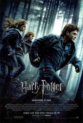 "harrypotterposter - ""Harry Potter and the Deathly Hallows - Part 1"", se filtra media hora de la movie en Internet."