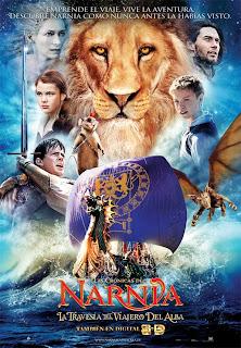 Narnia viajero alba b - Las crónicas de Narnia, llegan antes, pero solo en 3D.