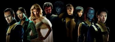 """X Men First Class Cast shot.jpeg 550x202 - Primera imagen de """"X-Men: First Class"""""""