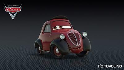 imagen galeria tiotopolino - Los nuevos personaje de Cars 2