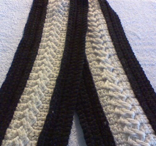 Crochet Cable Stitch Instructions : In the Loop: Crochet Cable Stitch (Braided)