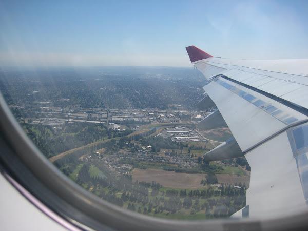 Departing PDX